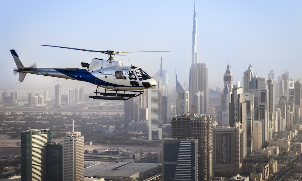 Dubai Helicopter Top Tours