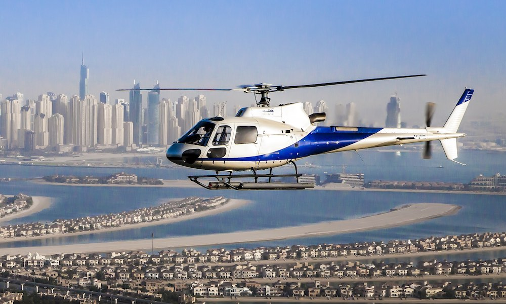 Dubai Helicopter Tours Palm