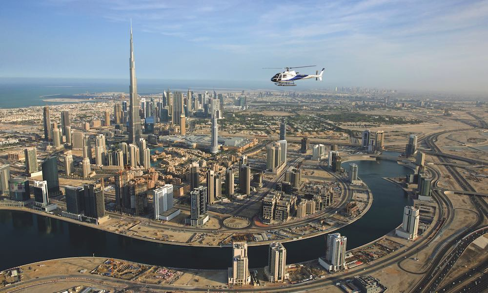 Iconic Helicopter Tour, Dubai Helicopter Tours Tower