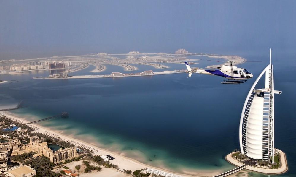 Dubai Helicopter Top Tour
