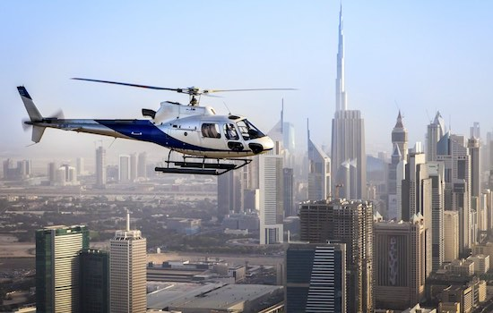 Iconic Helicopter Tour, Dubai Helicopter